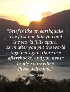 Grief…