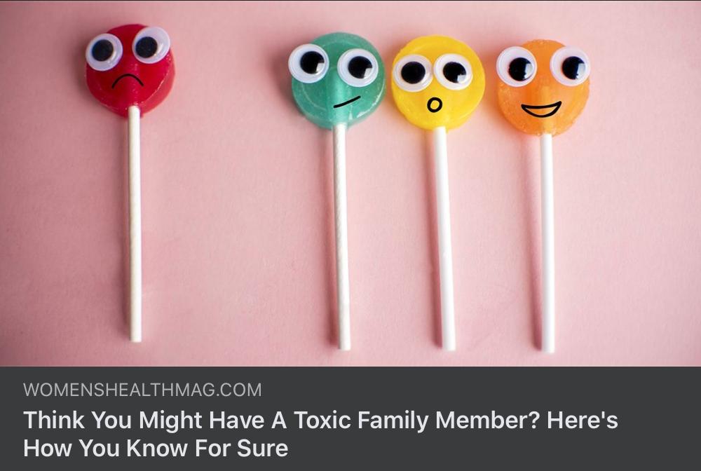 Toxic Relationships…
