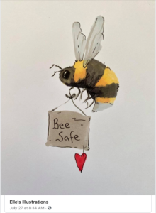Bee safe…