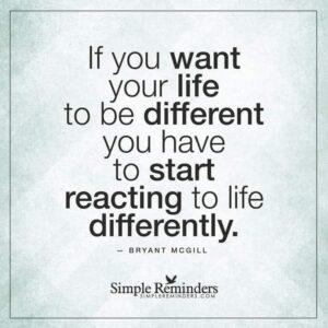 Change happens…