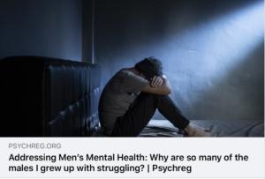 Men's Mental Health…