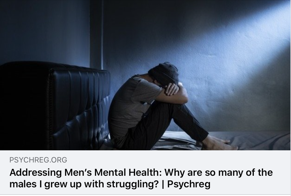 Men's Mental Health…