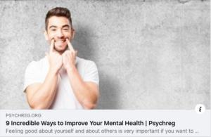 Mental Health…