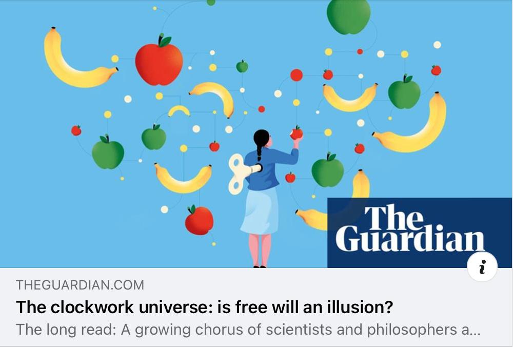 Free will or free won't?